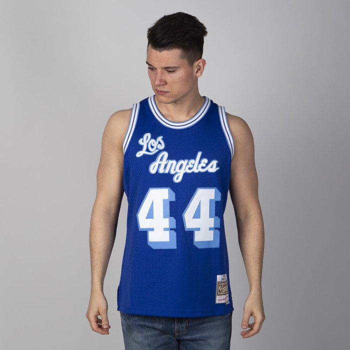 10248f92286 ... Mitchell   Ness Los Angeles Lakers  44 Jerry West royal Swingman Jersey  ...