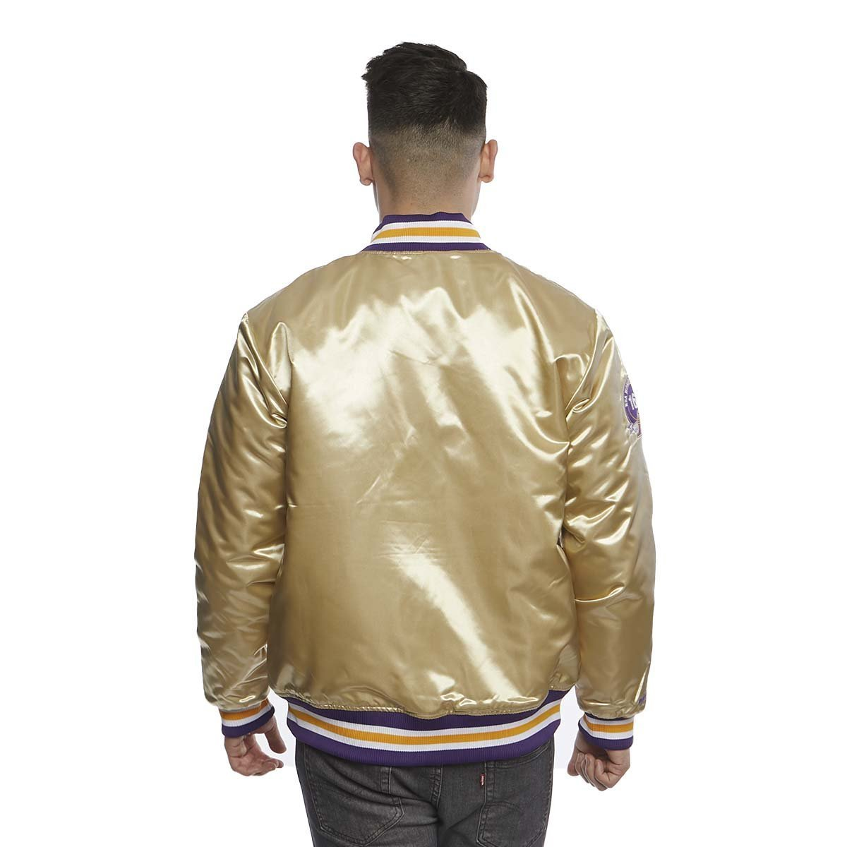 Mitchell & Ness Los Angeles Lakers Jacket beige ...
