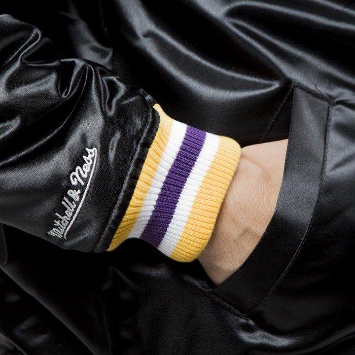Mitchell & Ness Los Angeles Lakers Jacket black NBA Satin ...