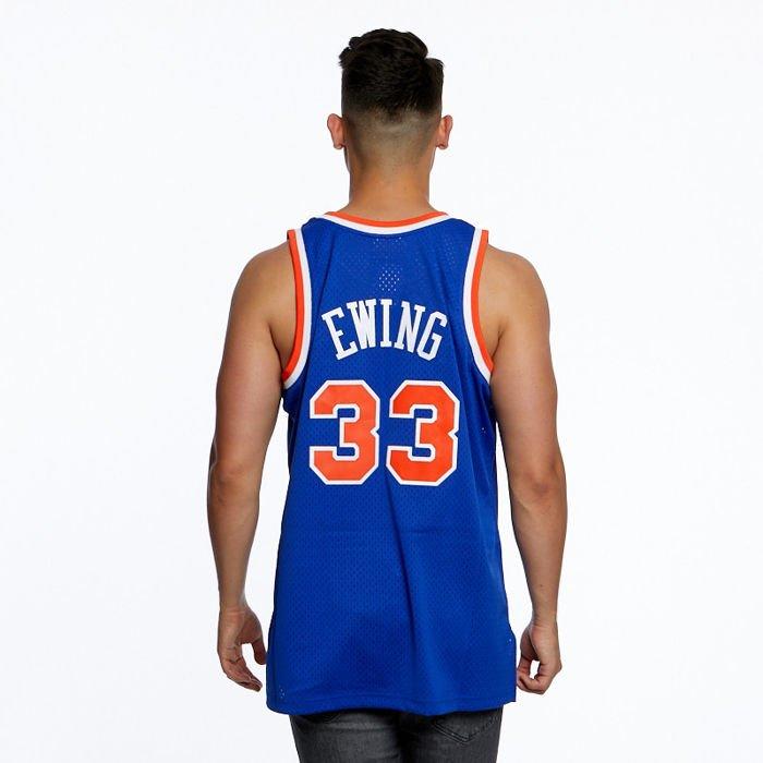 competitive price 4d9c6 03a10 Mitchell & Ness New York Knicks #33 Patrick Ewing royal Swingman Jersey