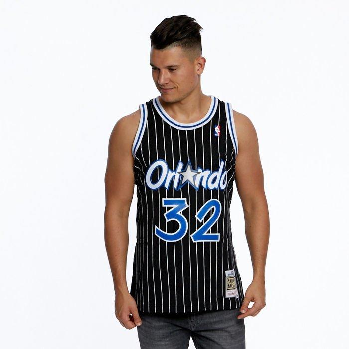 Mitchell /& Ness Orlando Magic Shaquille ONeal Black Swingman Jersey