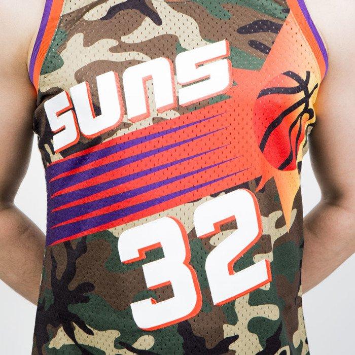 ... Mitchell   Ness Phoenix Suns  32 Jason Kidd camo Swingman Jersey ... 3b279e119