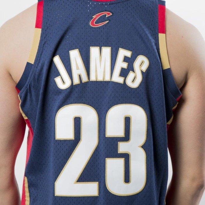 the latest c1628 d6697 Mitchell & Ness Seattle Cleveland Cavaliers #23 Lebron James navy Swingman  Jersey
