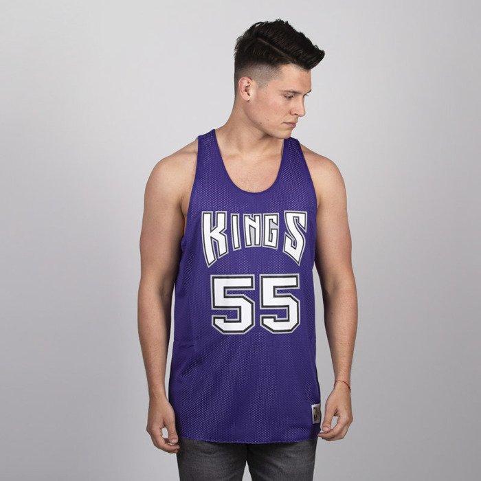 san francisco a3cc3 8fc94 Mitchell & Ness Tank Top Sacramento Kings #55 Jason Williams purple / white  NBA Reversible Mesh Tank