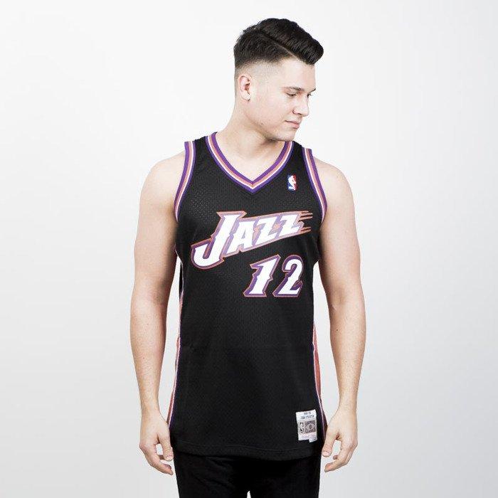 huge selection of 96944 39761 Mitchell & Ness Utah Jazz #12 John Stockton black/pink Swingman Jersey