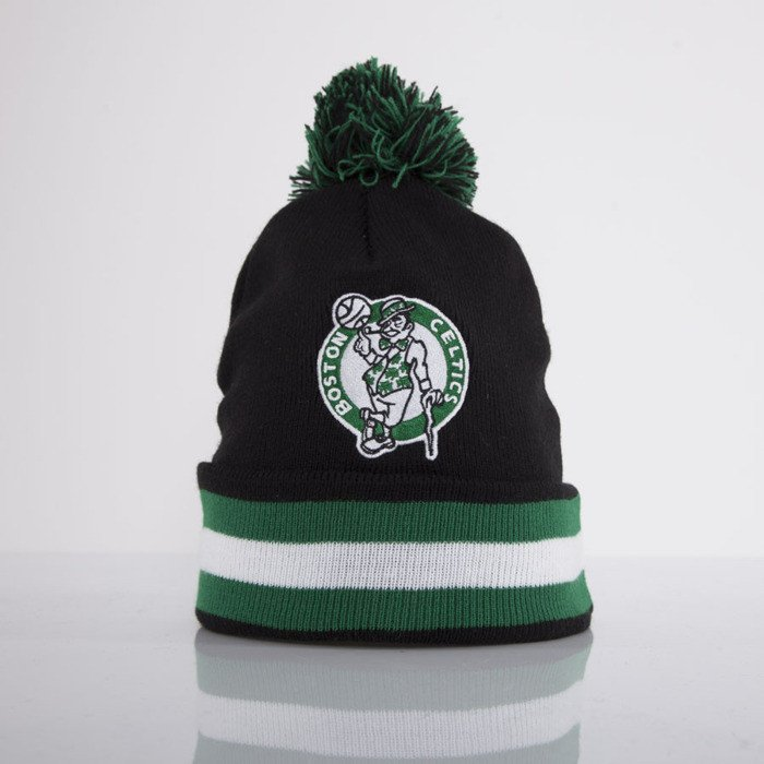 413dd10ff04 ... coupon for mitchell ness beanie boston celtics black black out team  with bobble kn45z f0fcd 59ac6
