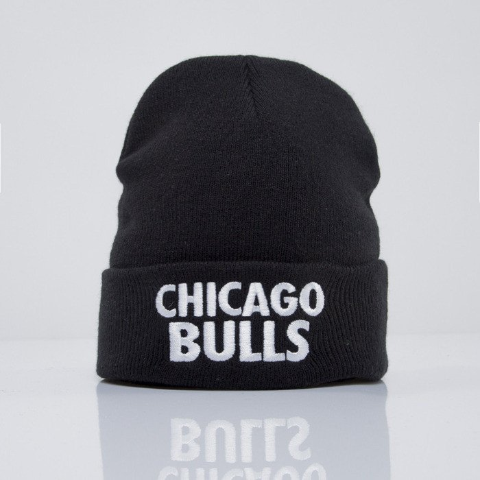 ... Mitchell   Ness beanie Chicago Bulls black Headline EU253 ... 48c338b90a0