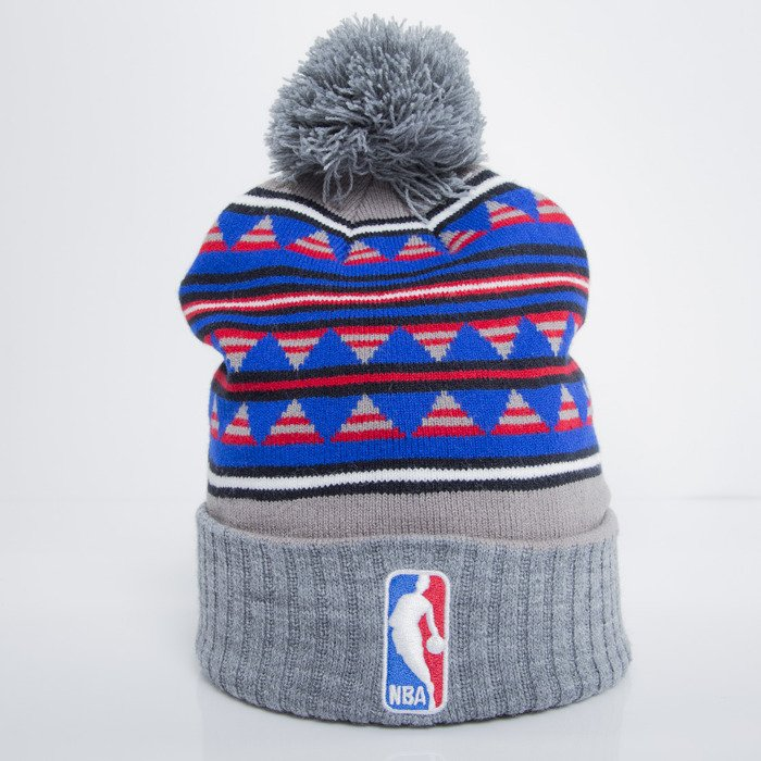 897f8dd4d8c ... discount code for mitchell ness beanie nba logoman grey mixtec pom  kq49z a6aaa cabd0