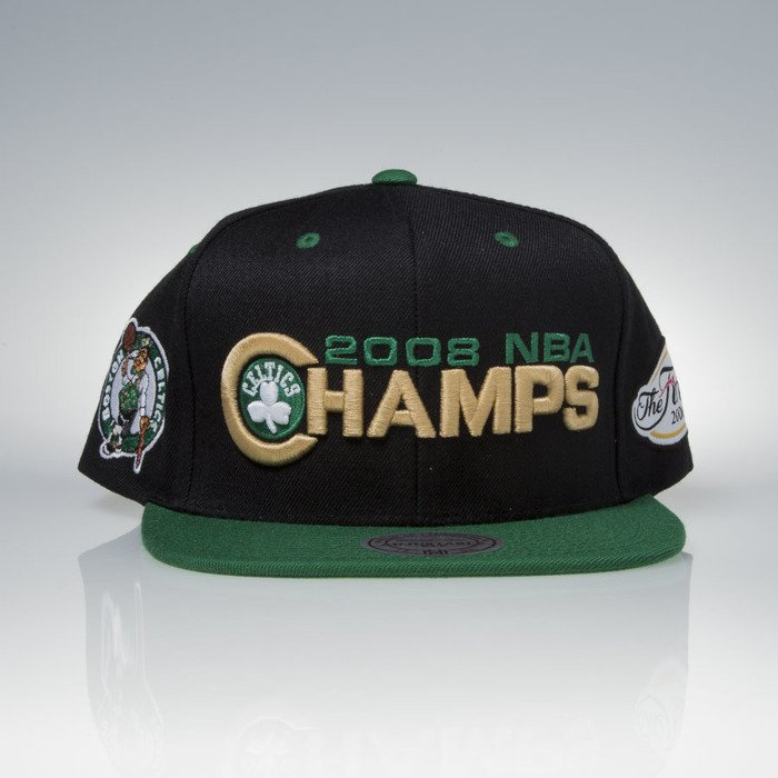 5a0023bb Mitchell & Ness cap snapback Boston Celtics black / green 2008 NBA  Champions V098Z | Bludshop.com