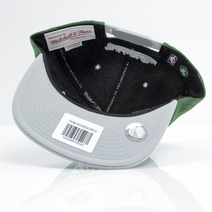 new concept 37e55 474e2 Mitchell   Ness cap snapback Boston Celtics green Denim Harry VE87Z ...
