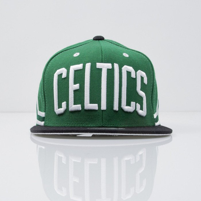 the best attitude 02b6a 20cad Mitchell   Ness cap snapback Boston Celtics green Team Short Jersey VF61Z    Bludshop.com