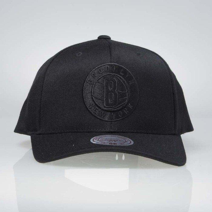 712e99485d858 Mitchell   Ness cap snapback Brooklyn Nets black EU889 FLEXFIT 110 ...