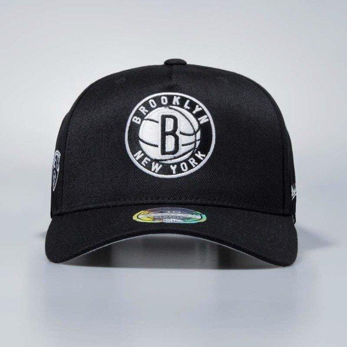 1612ddf4e28ff ... Flexfit 110 · Mitchell   Ness cap snapback Brooklyn Nets black Eazy  Flexfit ...