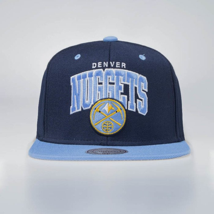 low priced 70d4f f6a27 ... sale mitchell ness cap snapback denver nuggets navy blue team arch  eu1129 e0e24 ae4ca ...