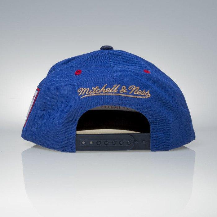 ... Mitchell   Ness cap snapback Detroit Pistons royal   navy 2004   3x NBA  Champions VP01Z ... fb3369960c84