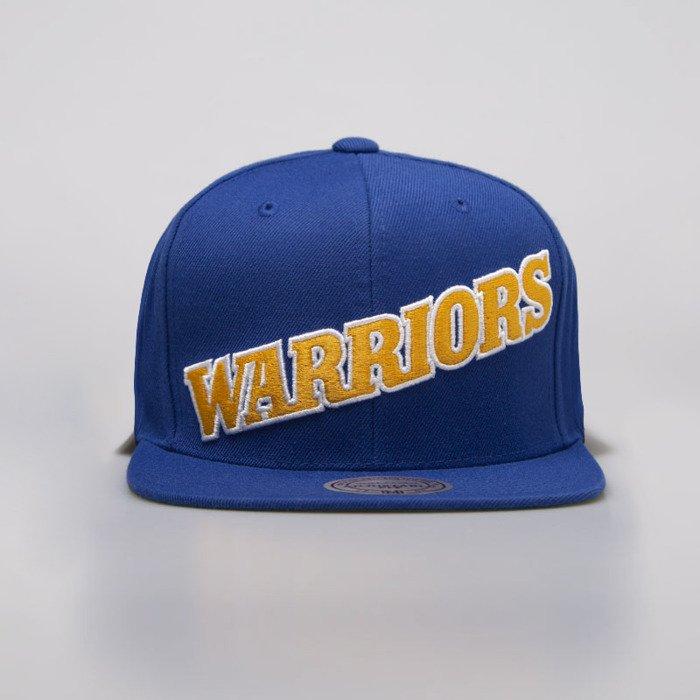 52d293de9e95f ... Mitchell   Ness cap snapback Golden State Warriors royal Wool Solid  Snapback ...