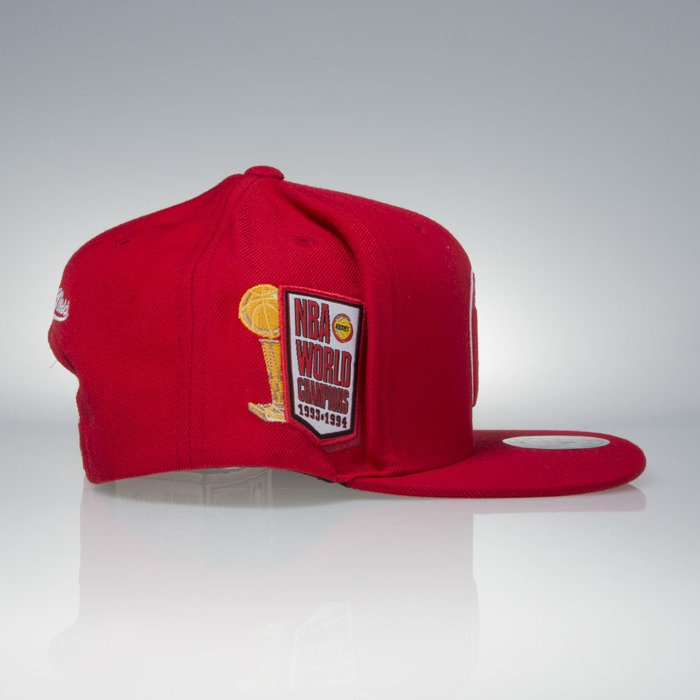 42efc10881d ... Mitchell   Ness cap snapback Houston Rockets red The 1994 NBA Finals  VP06Z ...