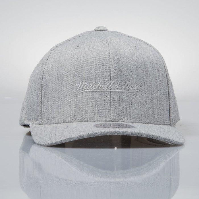 ff7b07f990be1 ... 110 · Mitchell   Ness cap snapback M N Logo grey heather EU889 FLEXFIT  ...