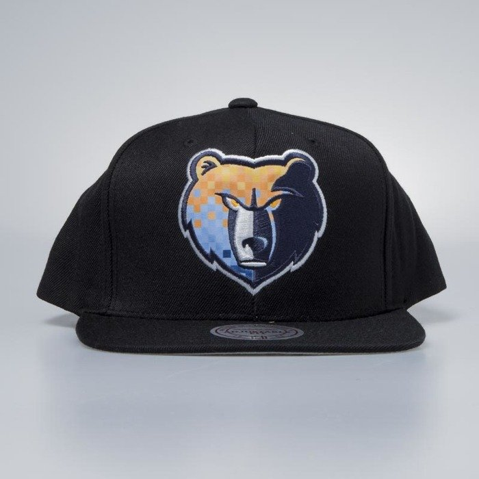 e4808104 ... Mitchell & Ness cap snapback Memphis Grizzlies black Easy Three Digital  ...