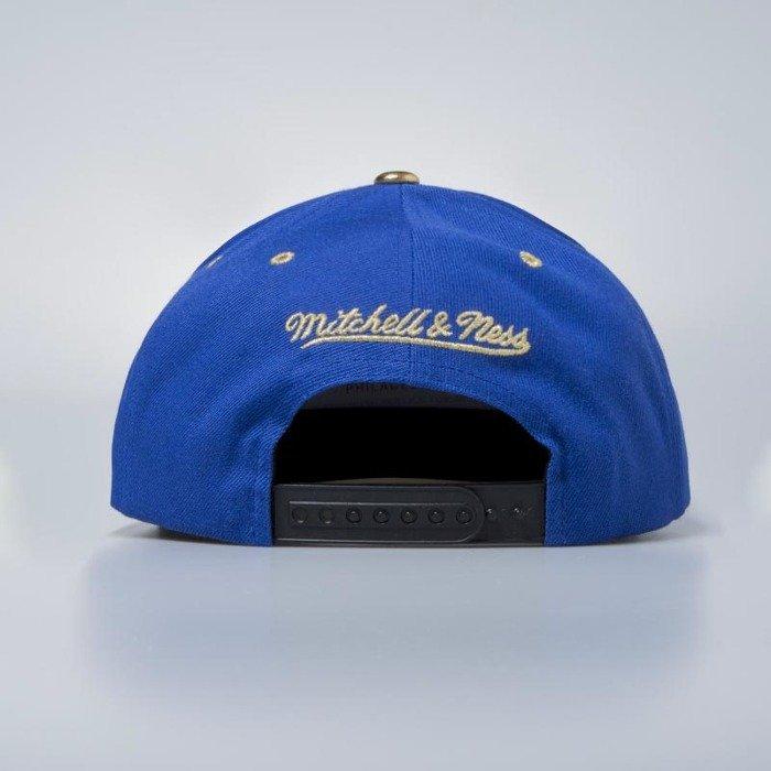 best service 5bd25 6e92a ... Tip · Mitchell   Ness cap snapback New York Knicks royal Gold ...