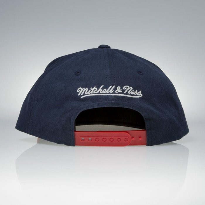 d332401af83 ... Mitchell   Ness cap snapback New York Red Bulls red   navy Sandy Off  White VV18Z ...