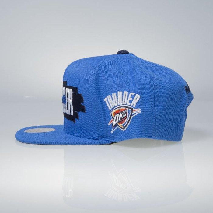 ... Mitchell   Ness cap snapback Oklahoma City Thunder blue Winning Streak  VU81Z ... bda426fe742