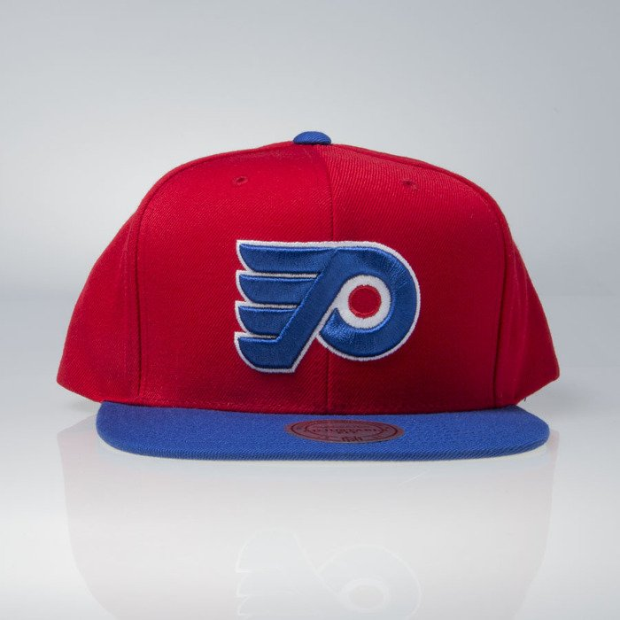 a77c7729ce1 ... Mitchell   Ness cap snapback Philadelphia Flyers red   blue Current  Throwback EU956 ...