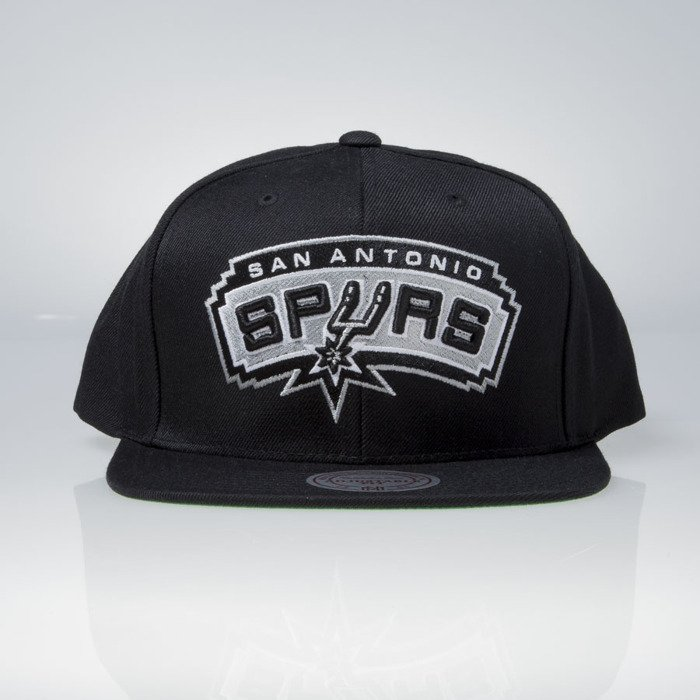 new york 2d68a 6e2c2 ... Mitchell   Ness cap snapback San Antonio Spurs black Wool Solid   Solid  2 NT78Z ...