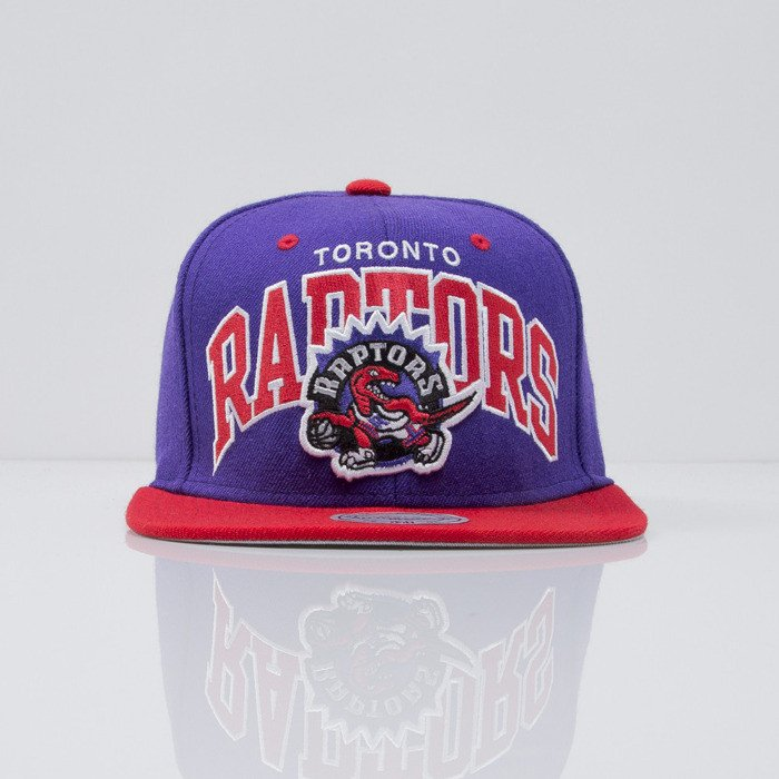 Mitchell   Ness cap snapback Toronto Raptors Team Arch NA80Z ... dfaff124af28