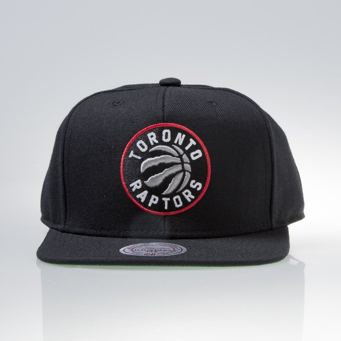 cheap price best selling super cute Mitchell & Ness cap snapback Toronto Raptors black WOOL SOLID ...