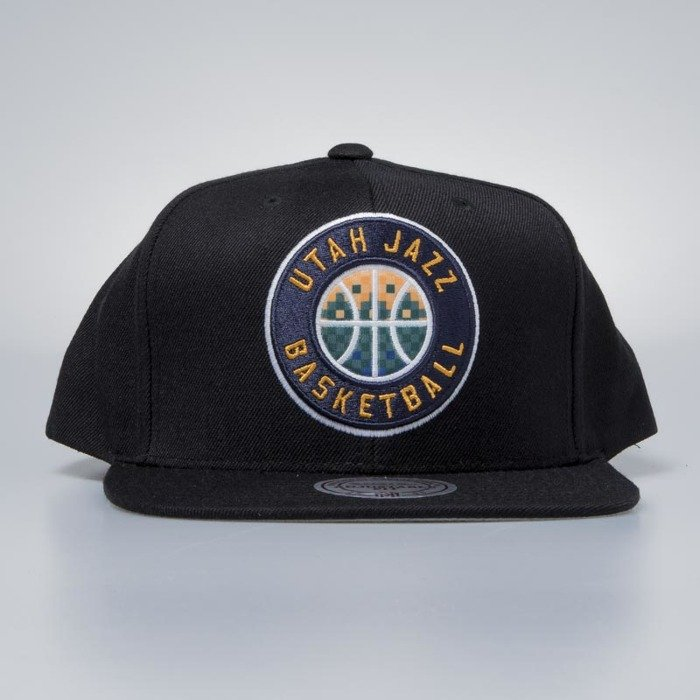 sports shoes 2b0cf dfe8d ... order mitchell ness cap snapback utah jazz black easy three digital xl  bludshop ddc57 64812