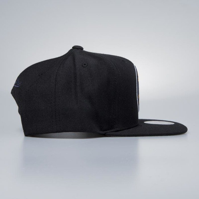 667fc4729772 ... Mitchell   Ness cap snapback Utah Jazz black Easy Three Digital ...