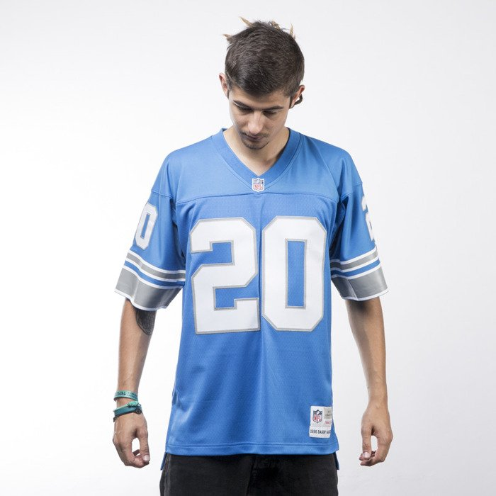 competitive price b3695 526cd Mitchell & Ness jersey Detroit Lions blue NFL REPLICA JERSEYS