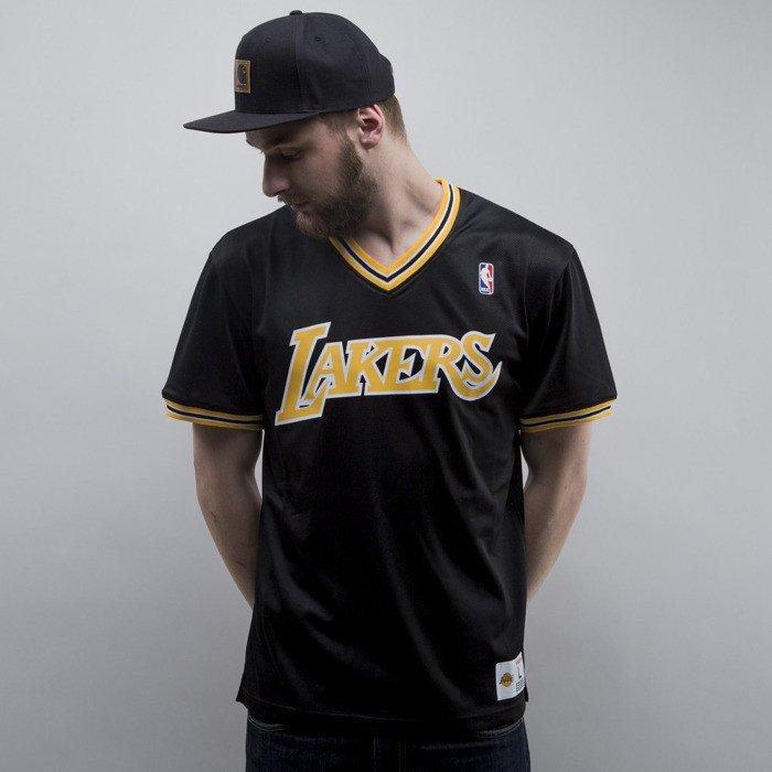 new arrival 38cbb 9d4d2 Mitchell & Ness jersey Los Angeles Lakers black #1 Spot Mesh Short Sleeve