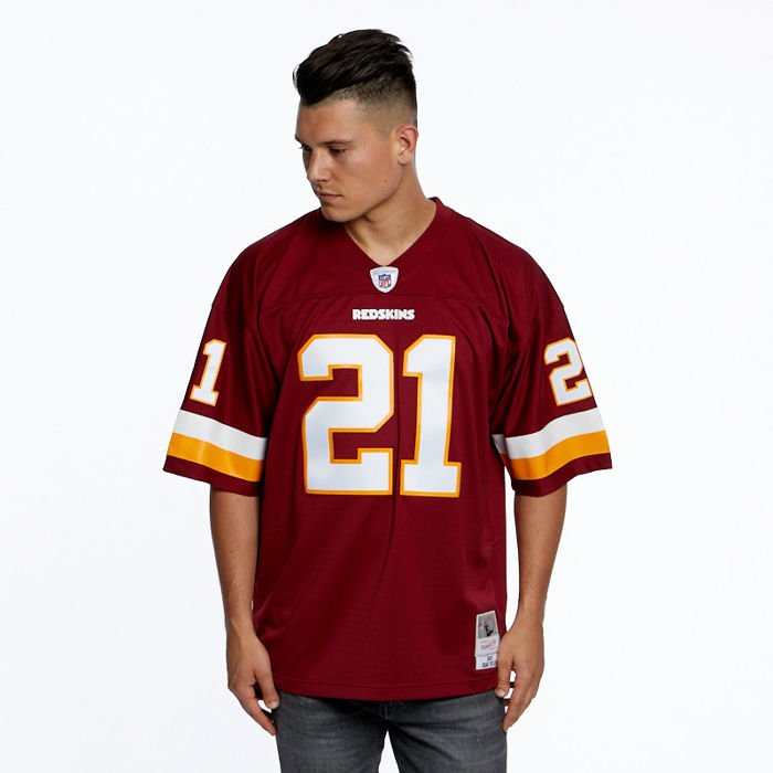 premium selection ea202 887e4 Mitchell & Ness jersey Washington Redskins #21 Sean Taylor burgundy NFL  Legacy Jersey