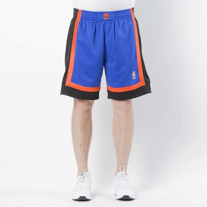 db2f83c553806 Mitchell & Ness shorts New York Knicks 1996 - 97 royal / black Swingman  Shorts | Bludshop.com