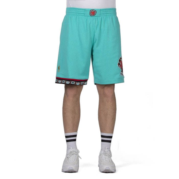1fbff3315d Mitchell & Ness shorts Vancouver Grizzlies teal Swingman Shorts |  Bludshop.com