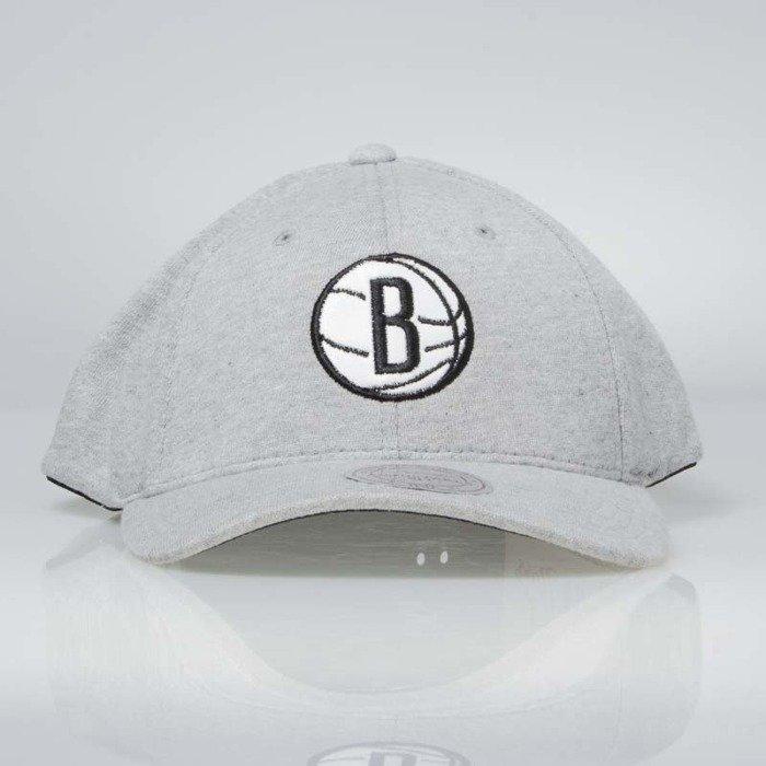 66b40a96cf21eb Mitchell & Ness snapback Brooklyn Nets grey INTL046 Sweat | Bludshop.com