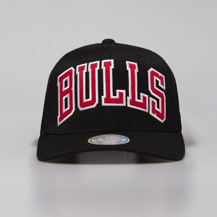 new concept 4ee4d 6fadc Mitchell & Ness snapback Chicago Bulls black Jersey Logo Snapback