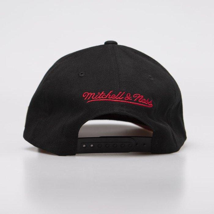 wholesale dealer fad59 63005 ... Mitchell   Ness snapback Miami Heat black HWC 110 Snapback ...