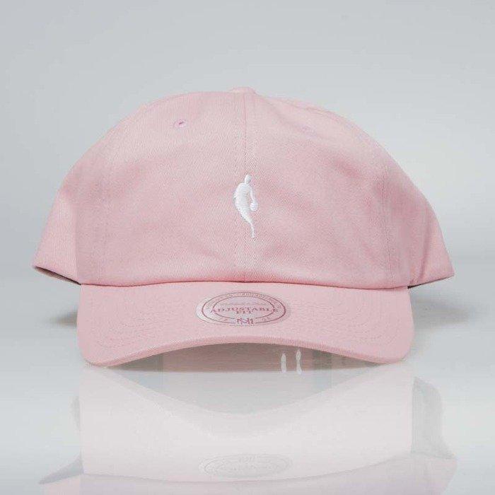 af389deb Mitchell & Ness snapback NBA pink / white INTL053 Little Dribbler Dad Hat |  Bludshop.com