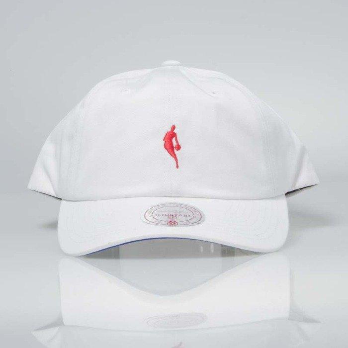 Mitchell   Ness snapback NBA white   red INTL053 Little Dribbler Dad Hat  9471e021cb5