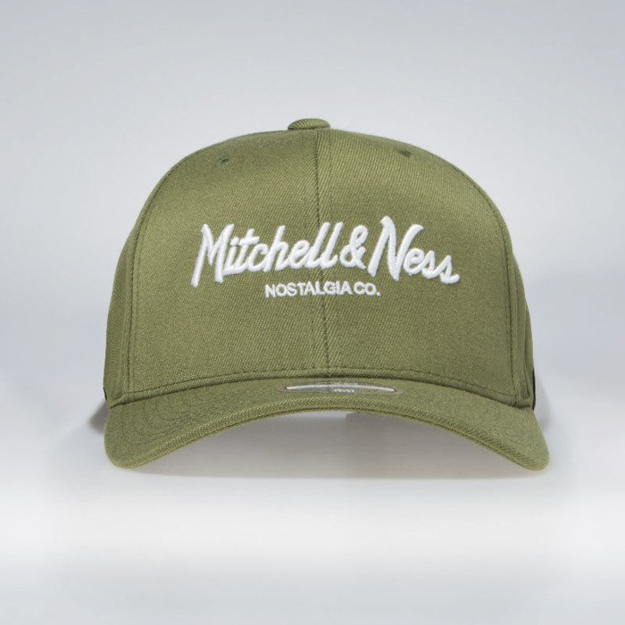 7e686555d50d3 ... Mitchell   Ness snapback Own Brand olive Pinscript High Crown110 ...