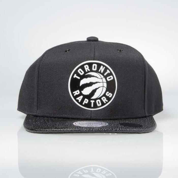4cfb4735ddf ... Mitchell   Ness snapback Toronto Raptors black INTL042 Ultimate ...