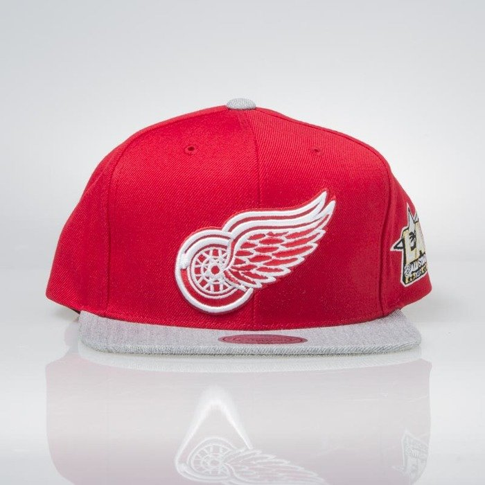 29603a4f2941b Mitchell & Ness snapback cap Detroit Red Wings red / grey All Star Game  2Tone 464VZ | Bludshop.com