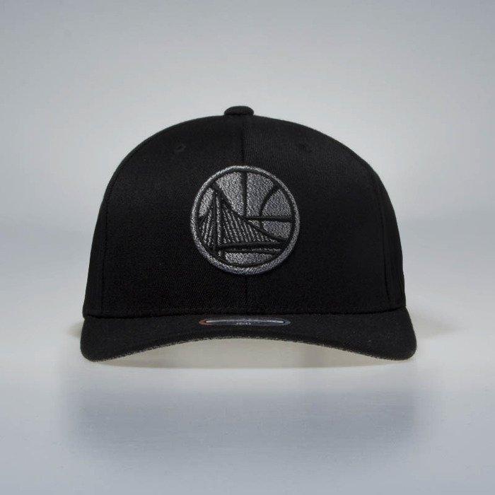 cd702ffd203a26 ... Mitchell & Ness snapback cap Golden State Warriors black Melange Logo  110 ...