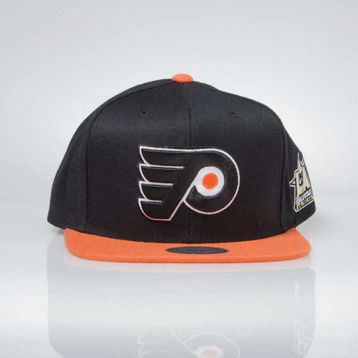 32d009ae518 ... Mitchell   Ness snapback cap Philadelphia Flyers black   orange All  Star Game 2Tone 464VZ ...