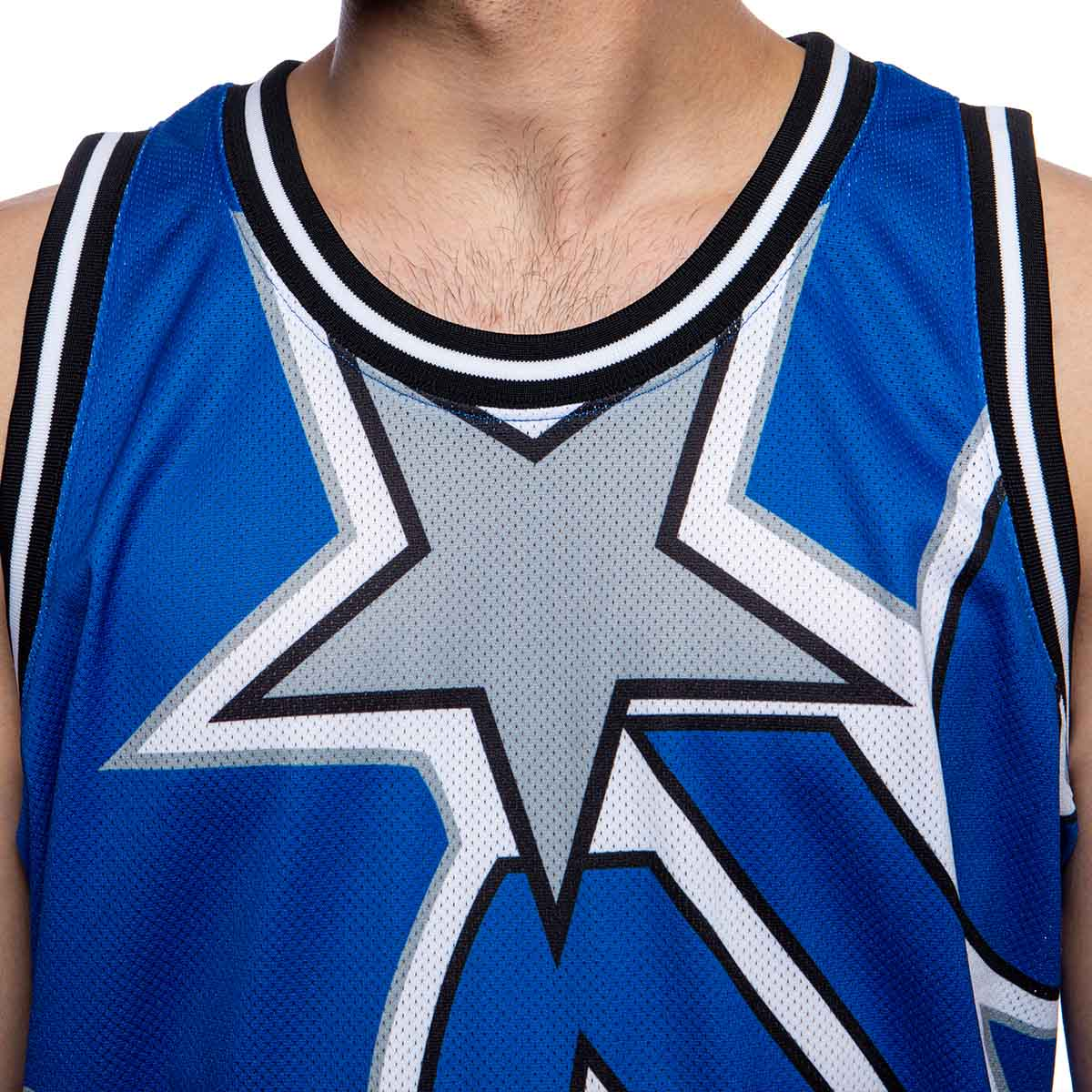 M/&N Big Face Basketball Jersey HWC Orlando Magic