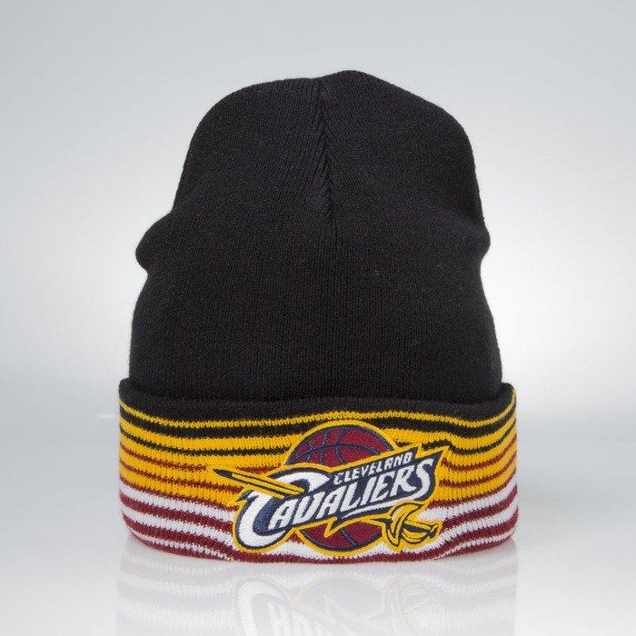 finest selection 78e0c fe5b8 ... Mitchell   Ness winter beanie Cleveland Cavaliers black EU256 Linear ...