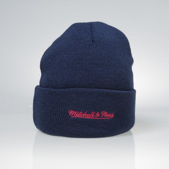 ... Mitchell   Ness winter beanie New York Red Bulls navy Team Logo Cuff  EU785 ... b5e462ba15